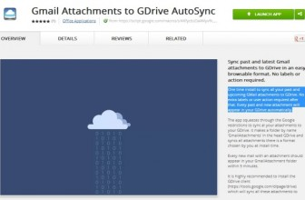 Automatically Save All Your Gmail Attachments on Google Drive Account