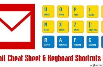 Ultimate Gmail Cheat Sheet & Keyboard Shortcuts List [InfoGraphic]