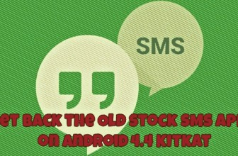 8sms is A Beautiful Replacement For Android 4.4 Kitkat Hangout SMS app