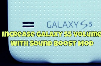Increase Galaxy S5 Volume With Sound Boost Mod