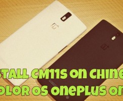 How to Install CM11s on Chinese Color OS OnePlus One