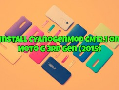 Install CyanogenMod CM12.1 on Moto G 3rd Gen (2015)