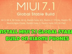 Install MIUI 7.1 Global Stable Build on Xiaomi Mi Note, Redmi note, Prime, Mi4i, Mi 3/Mi 4 and Other