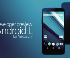 Download and Install New Android L Developer Preview For Nexus 5, 7