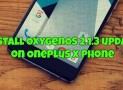 Install OxygenOS 2.1.3 update on OnePlus X Phone