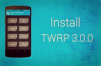 Easiest way to Install TWRP 3.0 Custom Recovery on Android Phones