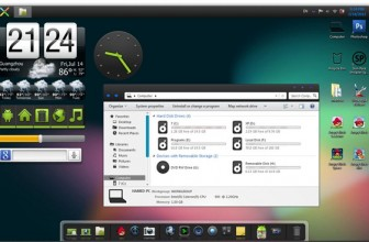 Get Android Jelly Bean Look on Your Windows Desktop