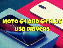 Download and Install Moto G4 and G4 Plus USB drivers