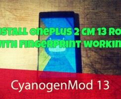 Download OnePlus 2 CM 13 ROM with Fingerprint working