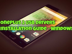 OnePlus 2 USB Drivers Installation Guide – Windows