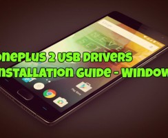 OnePlus 2 USB Drivers Installation Guide – Windows
