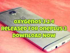 OxygenOS 3.2.4 Released for OnePlus 3 – Download Now