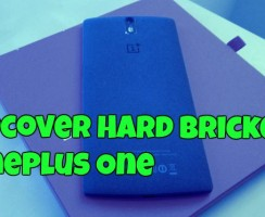 Guide to Recover From Hard Bricked OnePlus One