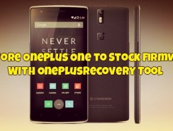 Restore OnePlus One to Stock Firmware With OnePlusRecovery Tool(Fixes Brick too)