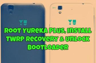 Root Yureka Plus, Install TWRP recovery & Unlock Bootloader