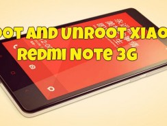 Steps to Root and Unroot Xiaomi Redmi Note 3G