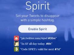 Self Destruct Your Twitter Tweets with Twitter Spirit