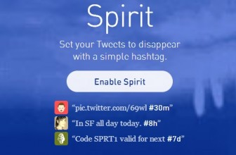 Self Destruct Your Twitter Tweets with Twitter Spirit