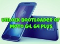 Guide to Unlock Bootloader of Moto G4, G4 Plus