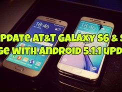 Update AT&T Galaxy S6 & S6 Edge with Android 5.1.1 update