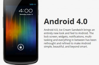 Galaxy Nexus with Android 4.0 Ice Cream Sandwich