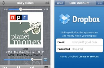 Convert Dropbox into Music Player for iOS Device