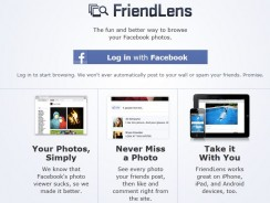 View All Facebook Photos In One Place with Friendlens