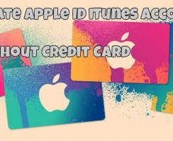 Steps to Create Apple ID iTunes Account Without Using Credit Card Details