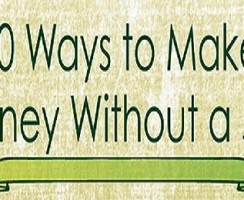 10 Easy Way To Make Money Without Doing any Job [Infographic]