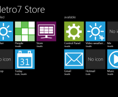 Get Windows 8 Metro Style Look on Windows 7