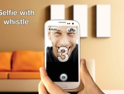 Click Your Selfie Pics Using Cam Countdown or Whistle