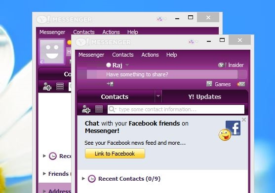 Login Multiple Yahoo Messenger