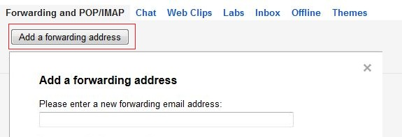 Forward Gmail Mails