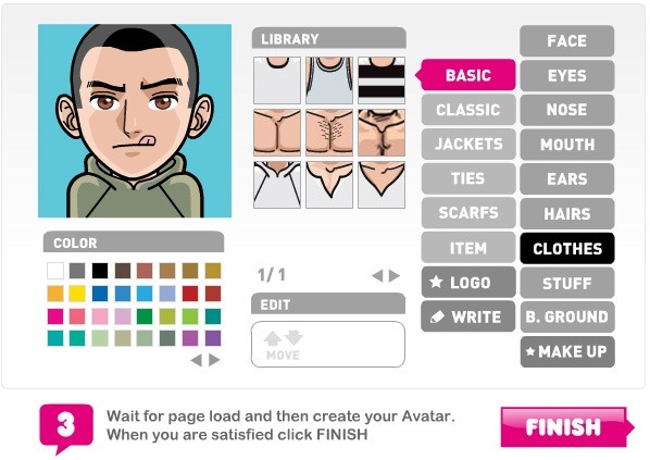 9 Sites To Create Cartoon Characters of Yourself - photo#6