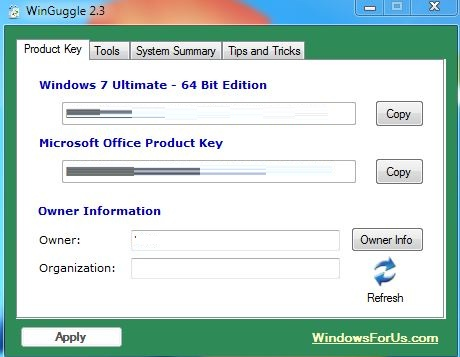 win 7 serial key finder