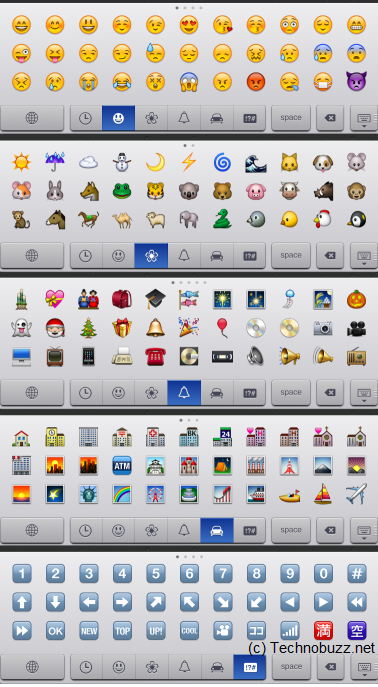 Enable Emoji Keyboard In Ipad Iphone Ios 5
