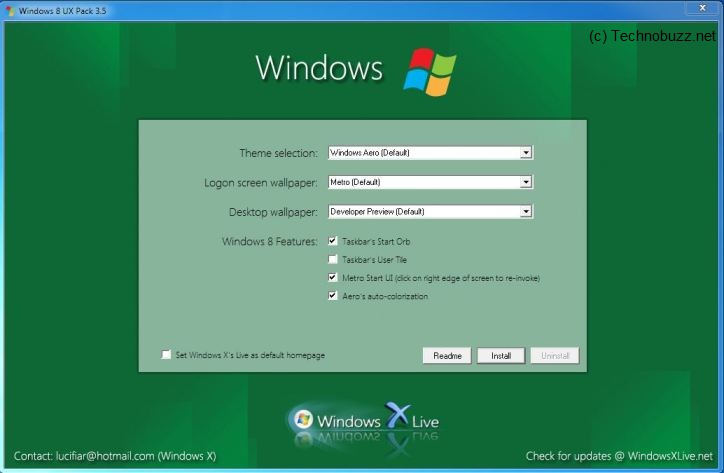Enjoy Windows 8 on Your Windows 7 with Windows 8 UX Pack