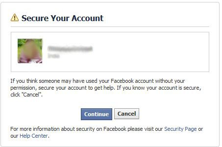 Recovering a hacked facebook account ccuart Image collections