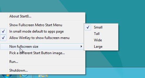 Start 8 Features