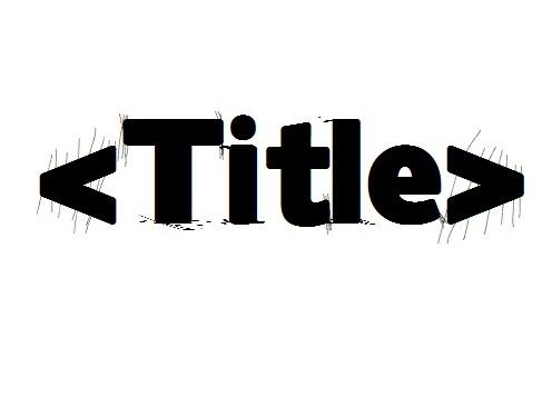 SEO Title Tag