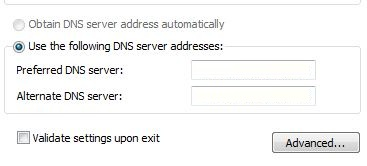 Open Blocked Facebook by DNS server