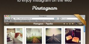 Browse Instagram Like Pinterest on the Web with Pinstagram