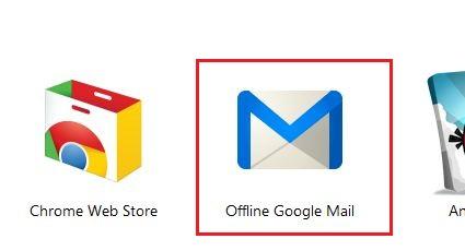 Offline Google Mail App Icon