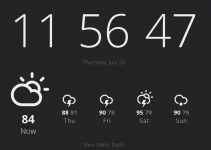 Add Time & Weather on Chrome tab With Currently Addon