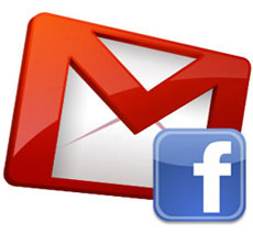 Find Your Gmail Friends on Facebook