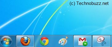 GMail Notifier on Taskbar