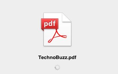 PDF File Loading