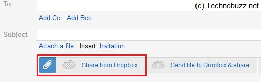 Share File From Dropbox