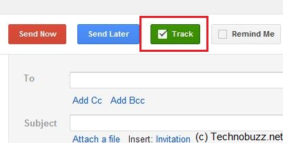 Track Button In Gmail