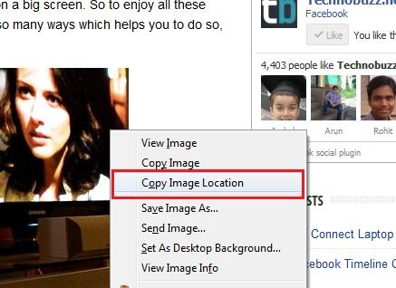 Upload Image on Facebook Via URL